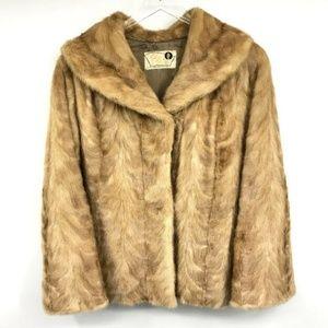 Vintage Gross Furs San Bernardino Mink Jacket L/XL